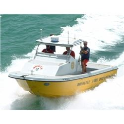 "2000 Radon 22"" Boat -Former Honolulu Fire Dept Rescue 2 (Built By Don Radon)"