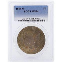 1884-O $1 Morgan Silver Dollar Coin PCGS MS64