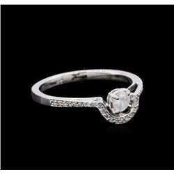 0.46 ctw Diamond Ring - 18KT White Gold