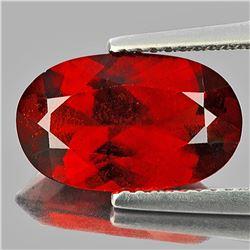 Natural Red Orange Hessonite Garnet 4.50 Carats - VVS