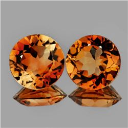 Natural  AAA Champagne Imperial Topaz 9 MM - FL