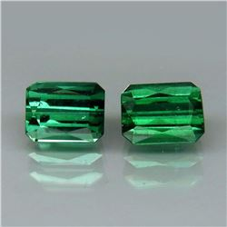 Natural Blue/Green  Tourmaline Pair 5.5 x 4 mm