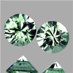 Natural Best AAA Green Sapphire Pair (Flawless-VVS1)