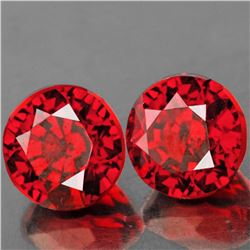 Natural Orange Red Spessartite Garnet 5.50 MM - VVS