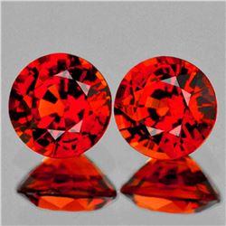 Natural Orange Red Spessartite Garnet 5.50 MM - VS
