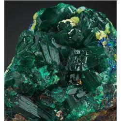 Natural DIOPTASE - RARE crystals Cluster
