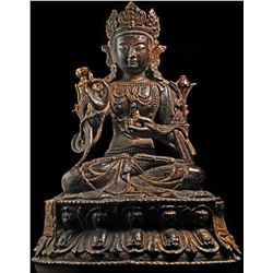 Antique Chinese Buddha Statue