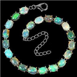 NATURAL AAA RAINBOW WHITE OPAL Bracelet