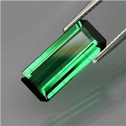 Natural Bluish Green Tourmaline 3.43 Ct