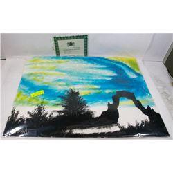 "237) ""THE REEF"" WILLIAM VERDULT OIL ON ARTIST"