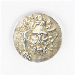 Athens 1906 Summer Olympics Silver Winner's Medal