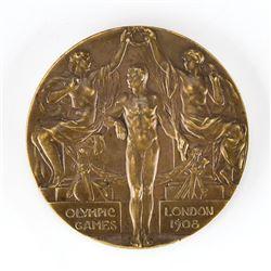 London 1908 Summer Olympics Bronze Winner's Medal