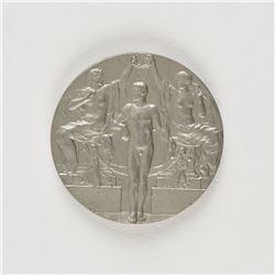 Stockholm 1912 Summer Olympics Pewter Winner's Medal