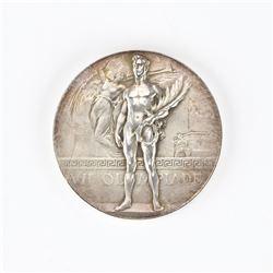 Antwerp 1920 Summer Olympics Silver Winner's Medal
