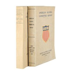 United States Olympic Committee Reports: 1920 and 1928