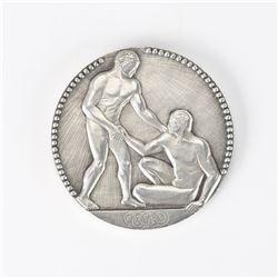 Paris 1924 Summer Olympics Silver Winner's Medal