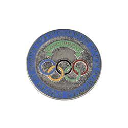 St. Moritz 1928 Winter Olympics Concurrent Badge