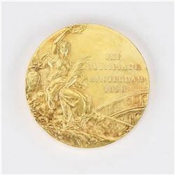 Amsterdam 1928 Summer Olympics Gold Winner's Medal
