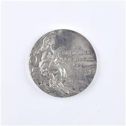 Amsterdam 1928 Summer Olympics Silver Winner's Medal