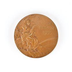 Berlin 1936 Summer Olympics Bronze Winner's Medal