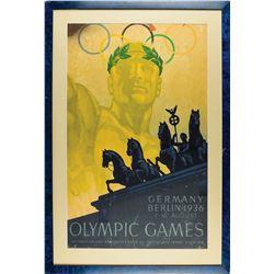 Berlin 1936 Summer Olympics Poster