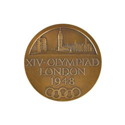 London 1948 Summer Olympics Bronze Participation Medal
