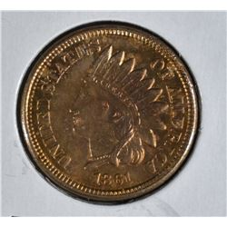1861 INDIAN HEAD CENT  CH.BU