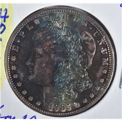 1885 MORGAN DOLLAR VAM 1B