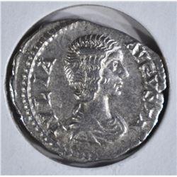 217 AD SILVER DENARIUS ROME