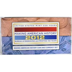 2012 U.S. MAKING AMERICAN HISTORY SEALED SET