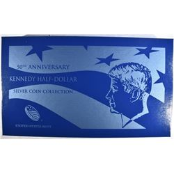 2014 SILVER KENNEDY HALF DOLLAR 4 COIN SET