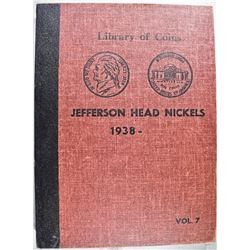 1938-65 JEFFERSON NICKEL COMPLETE SET