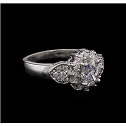 1.30 ctw Diamond Ring - 14KT White Gold