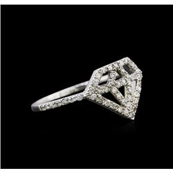0.30 ctw Diamond Ring - 14KT White Gold