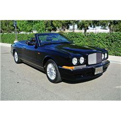 2000 Black Bentley Azure Convertible
