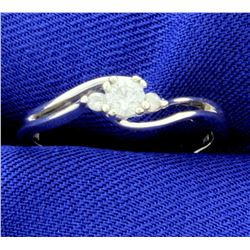 .2ct TW Diamond 3 Stone Ring in 10k White gold