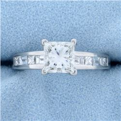 1.75ct TW Princess Diamond Engagement Ring in Platinum