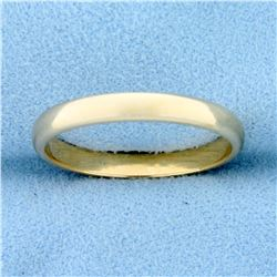 Men's 14k Gold Wedding Band Ring