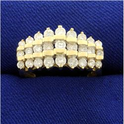 1ct TW Diamond Ring in 10K Yellow Gold