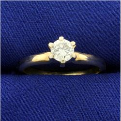 .4ct Solitaire Diamond Engagement Ring in 14K Yellow Gold