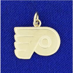 Philadelphia Flyers Pendant or Charm in 14K Yellow Gold