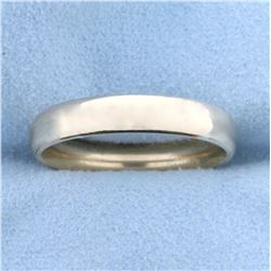 Comfort Fit Wedding Band Ring in 14K Yellow Gold