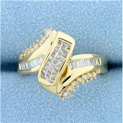 1/2ct TW Diamond Ring in 14k Yellow Gold
