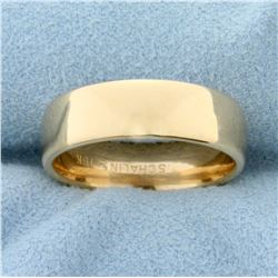 Women's Wedding Band Ring in 18K Yellow Gold
