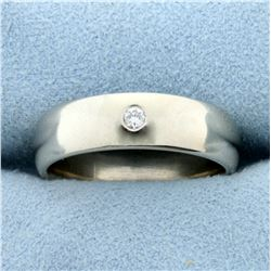 Diamond Wedding or Anniversary Band Ring in 14K White Gold