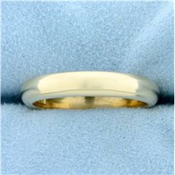 4.1mm Comfort Fit Wedding Band Ring in 14K Yellow Gold