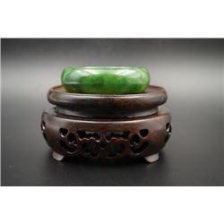 A Russian Jade Bracelet.