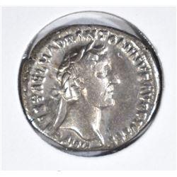 138-161AD SILVER DENARIUS ROME