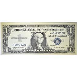 1957 B $1 SILVER CERTIFICATE STAR NOTE