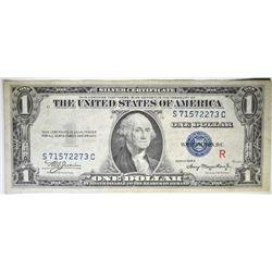 "1935 A $1 SILVER CERTIFICATE ""R"" EXPERIMENTAL"
